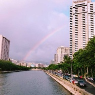 2018 in Hawaii 記 ~☆over the rainbow☆ sign~