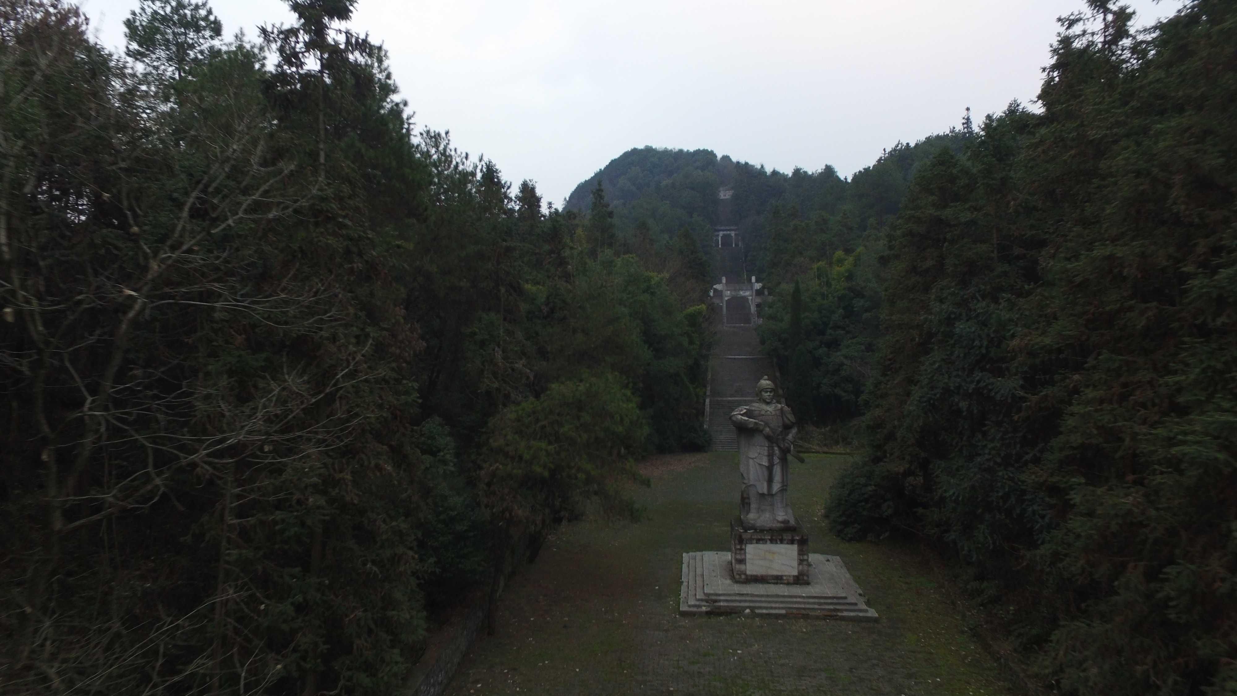 陸遜営寨(下車撮影)
