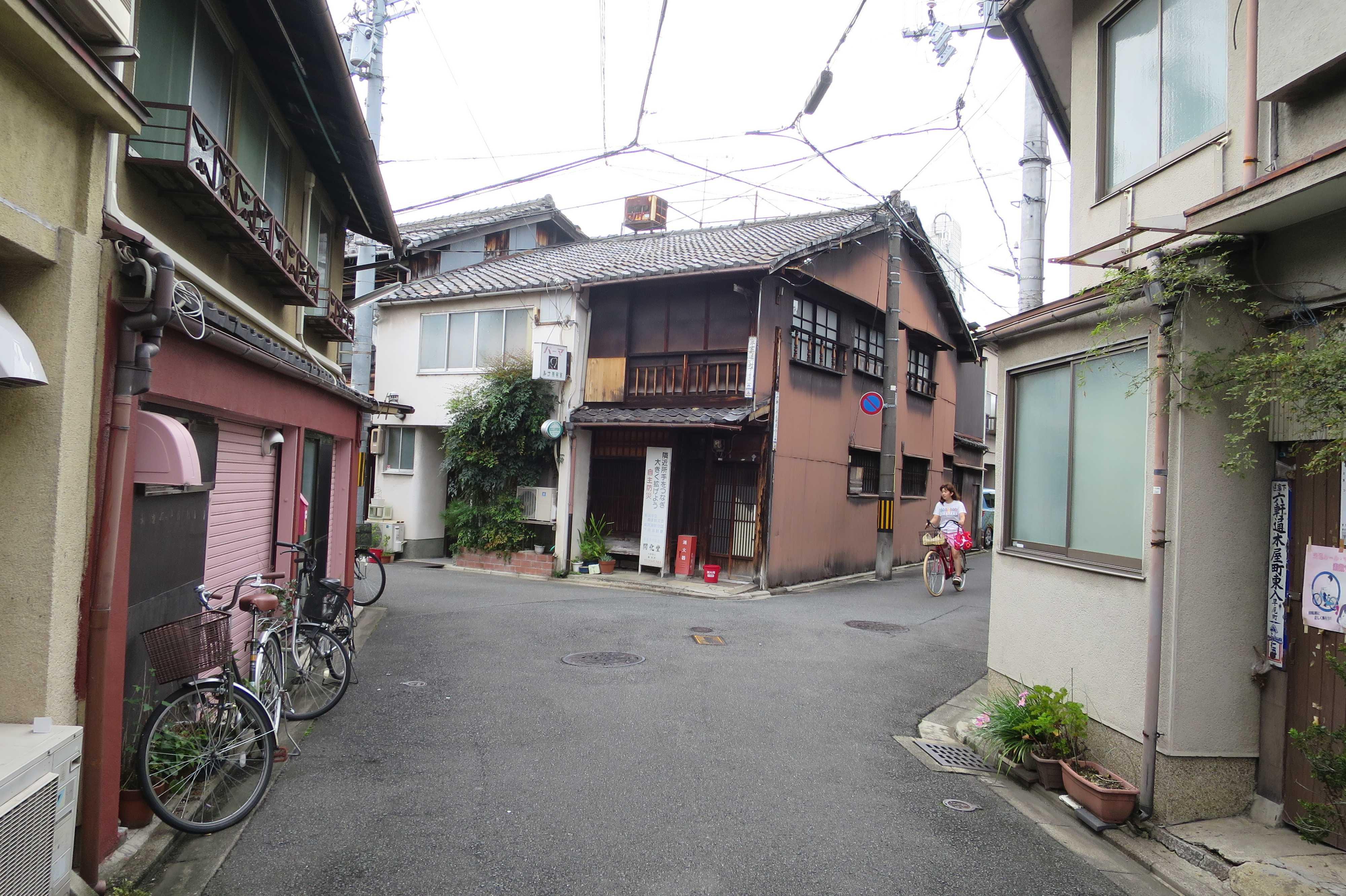 花街 - 五条楽園(京都市下京区)