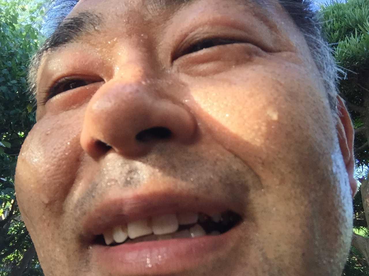 村内伸弘 - 笑い顔