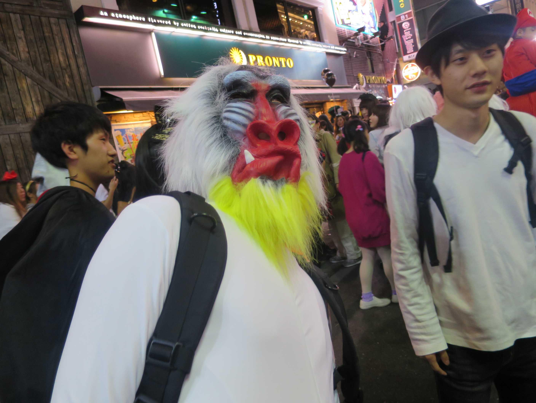 渋谷ハロウィーン - マンドリル