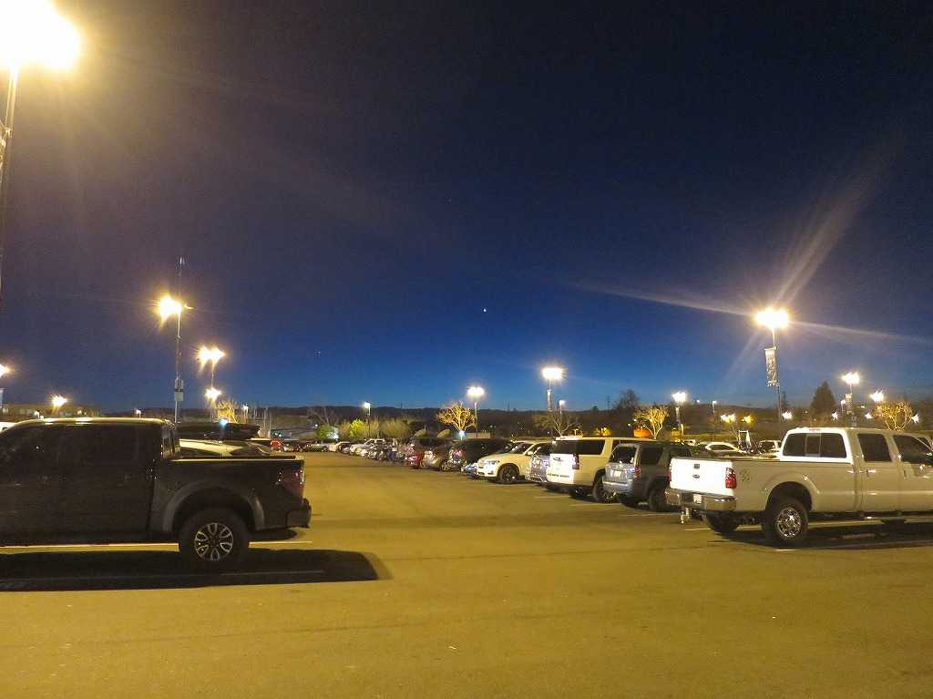 「SAPセンター・アット・サンノゼ」の駐車場