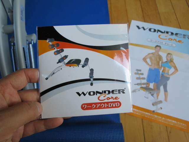 ワンダーコア(WONDER Core) ワークアウトDVD