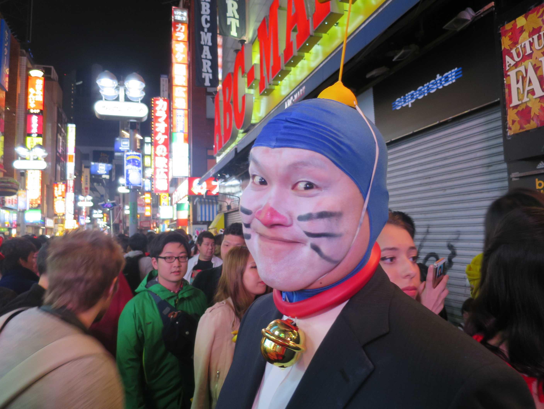 渋谷ハロウィーン - ドラえもん