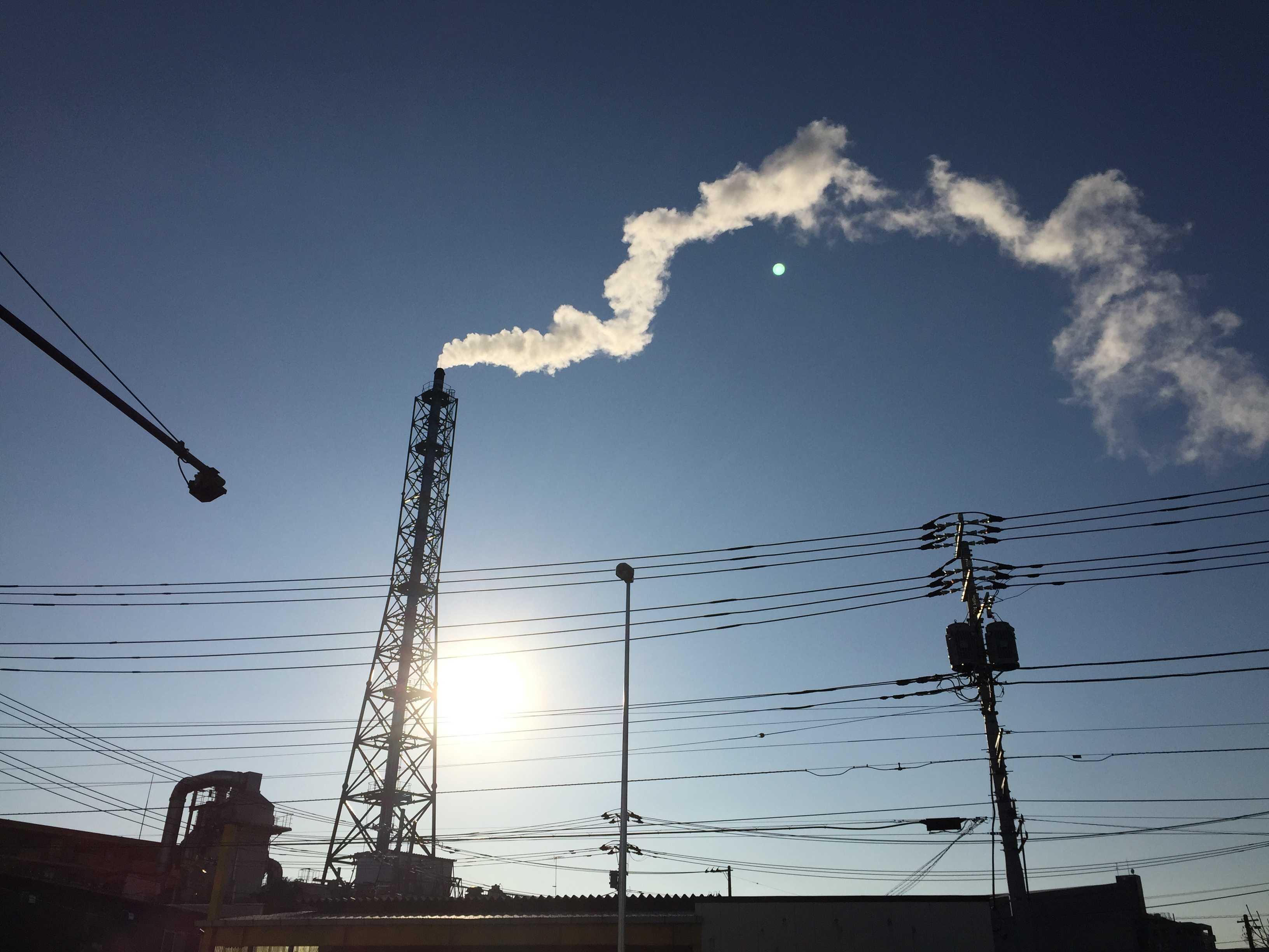 神奈川県相模原市の煙突