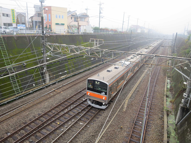JR武蔵野線の列車