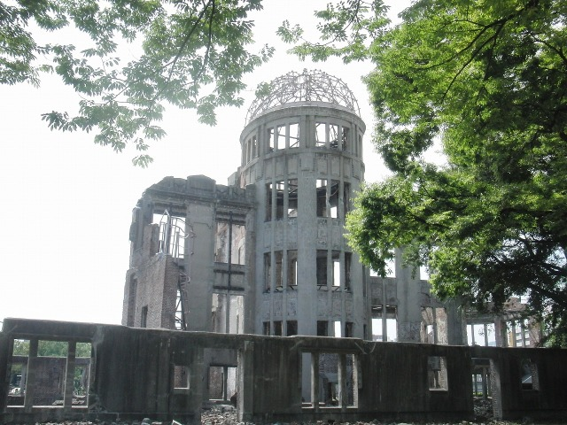 世界文化遺産・原爆ドーム(The A-bomb Dome)