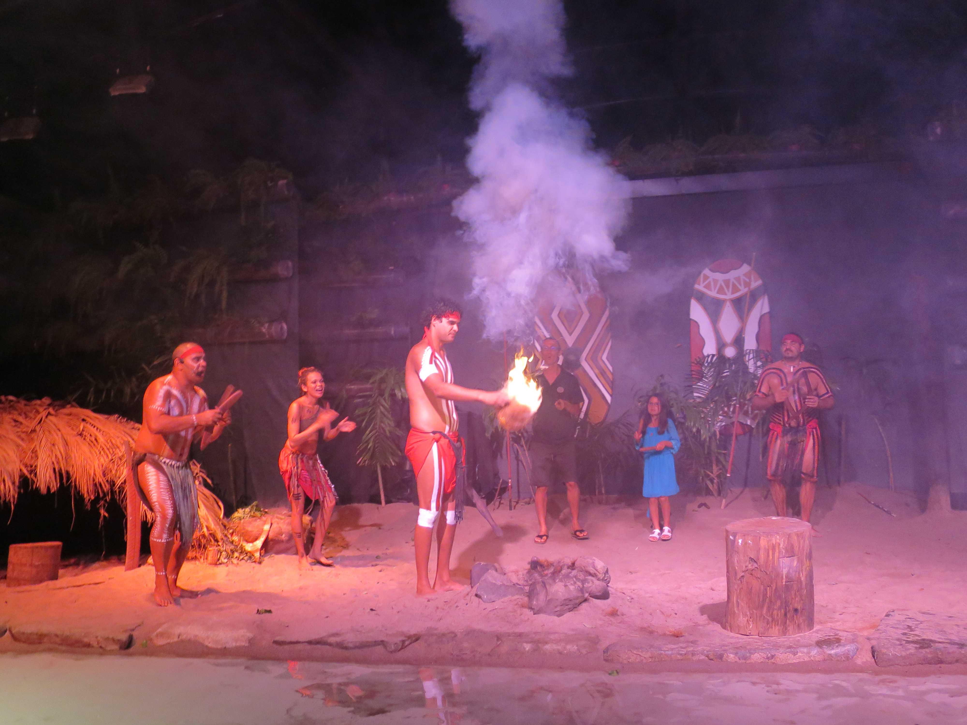 アボリジニダンス - 火を手に入れたアボリジニ