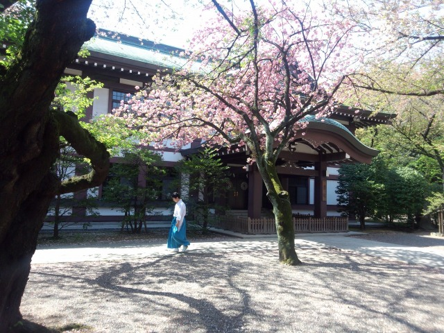 靖国神社 - 斎館・社務所