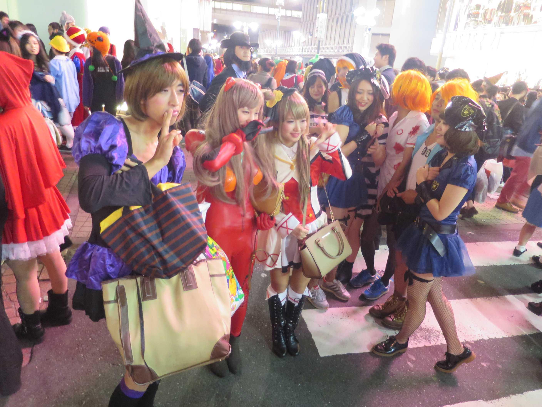 渋谷ハロウィン - みんなで記念撮影
