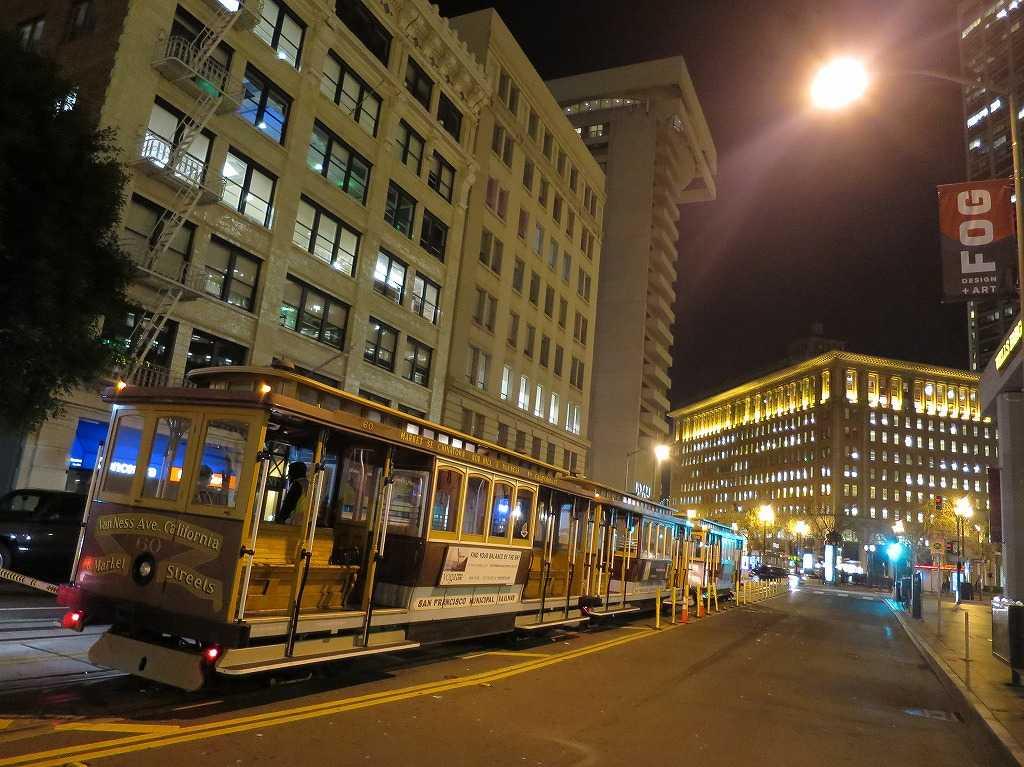 美しき夜のサンフランシスコ、美しき夜のケーブルカー