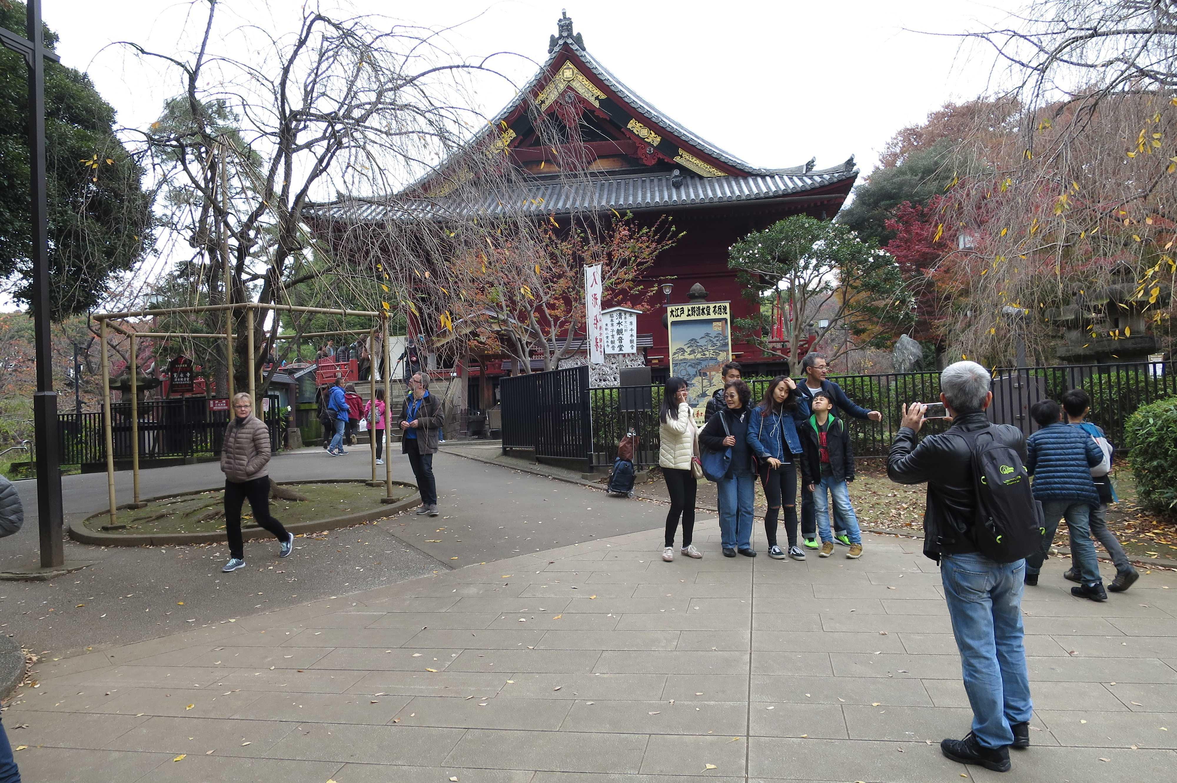 清水観音堂 - 上野公園