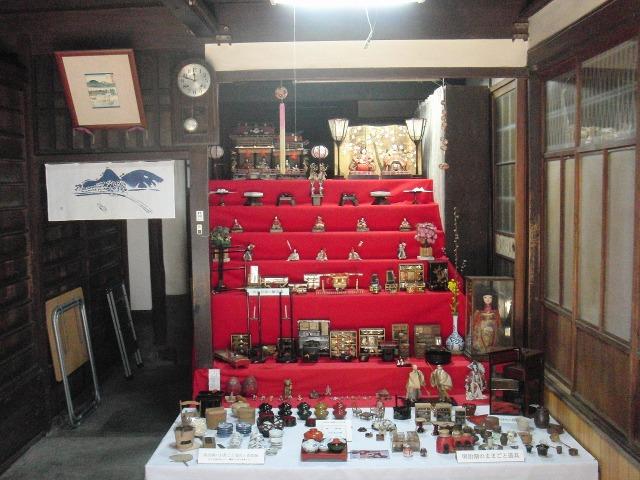 鞆・池田家の雛飾り