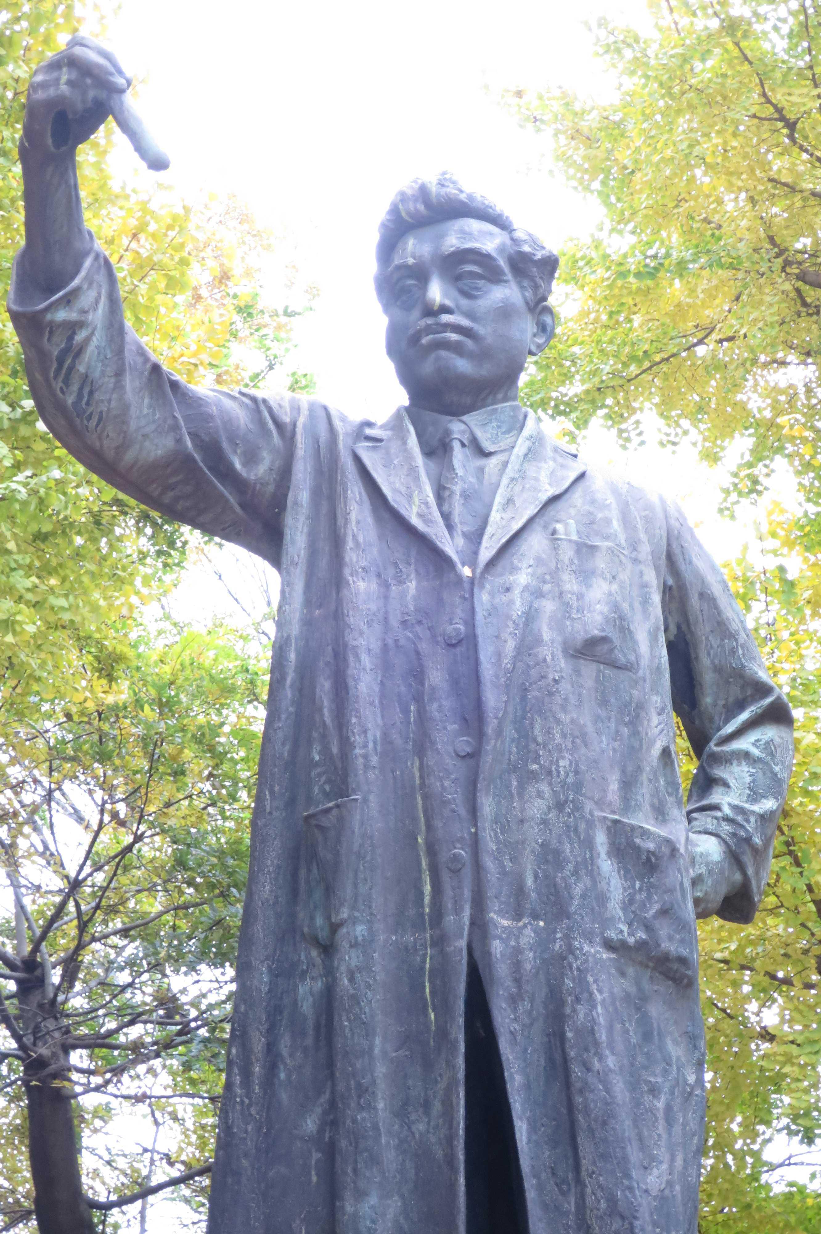 野口英世銅像 - 上野公園