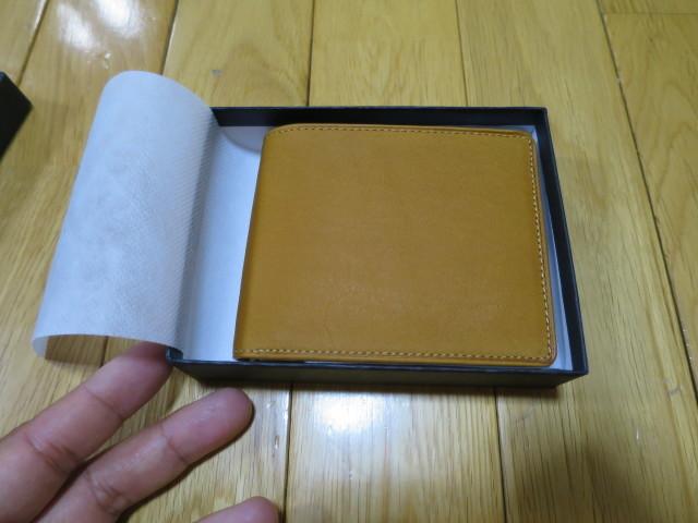 ミズノの牛革二つ折りサイズ - 1GJYG00900の USAコルク色