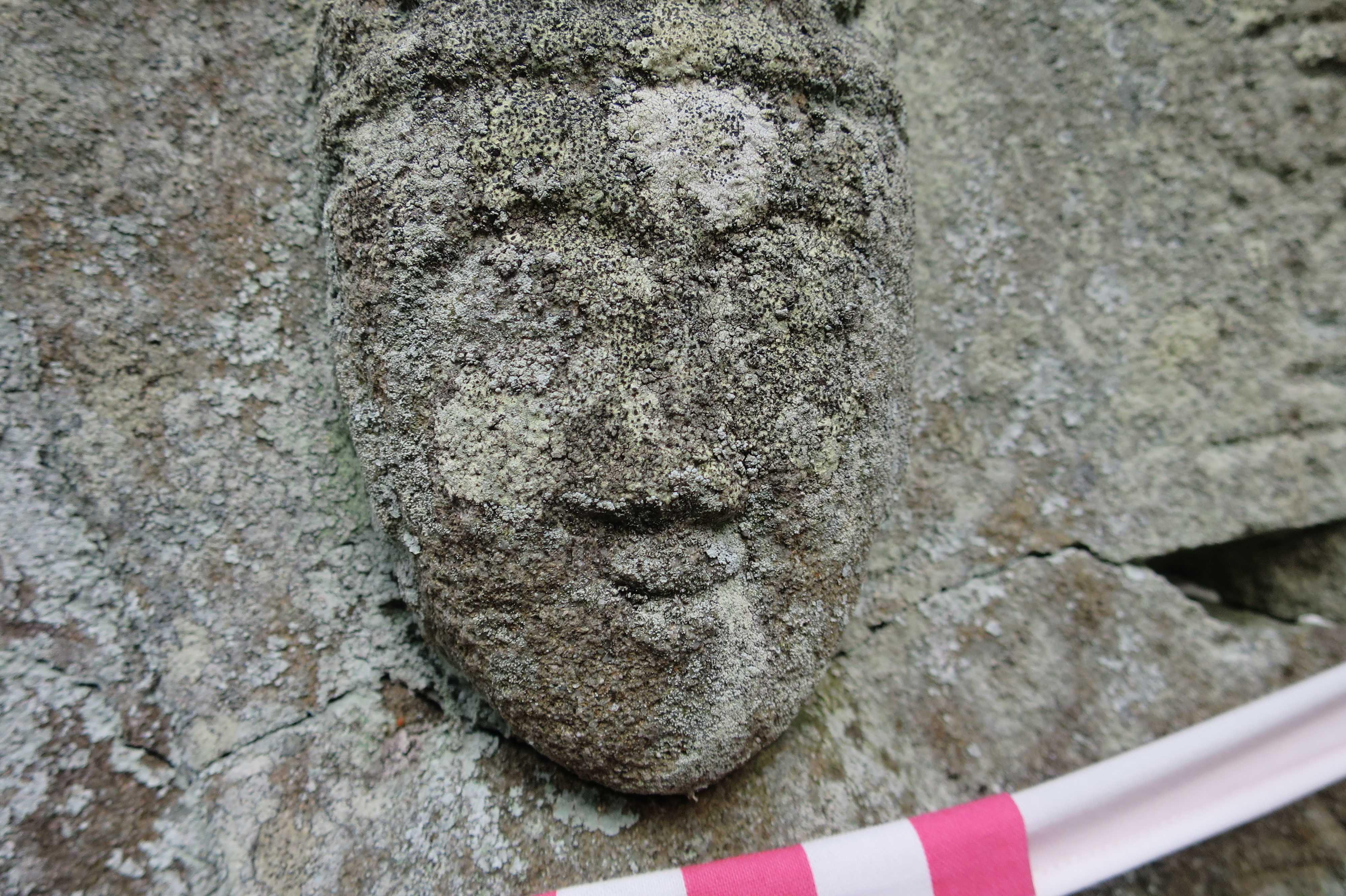 実に良い表情の石仏 - 奥の院捨身ヶ嶽禅定