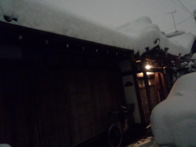 大雪と田町の遊郭跡