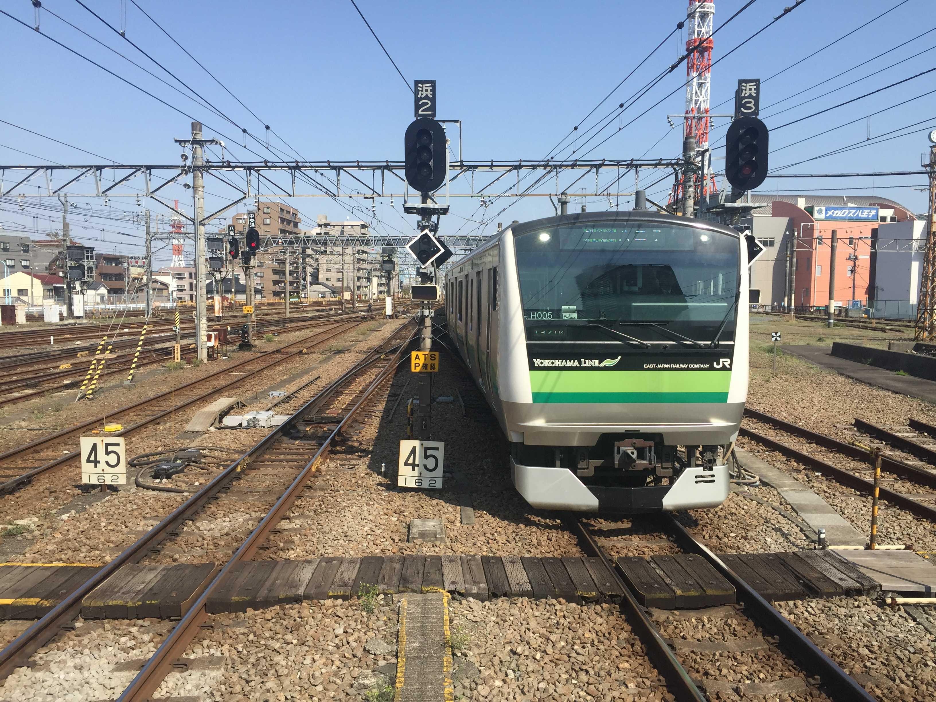 JR八王子駅の横浜線