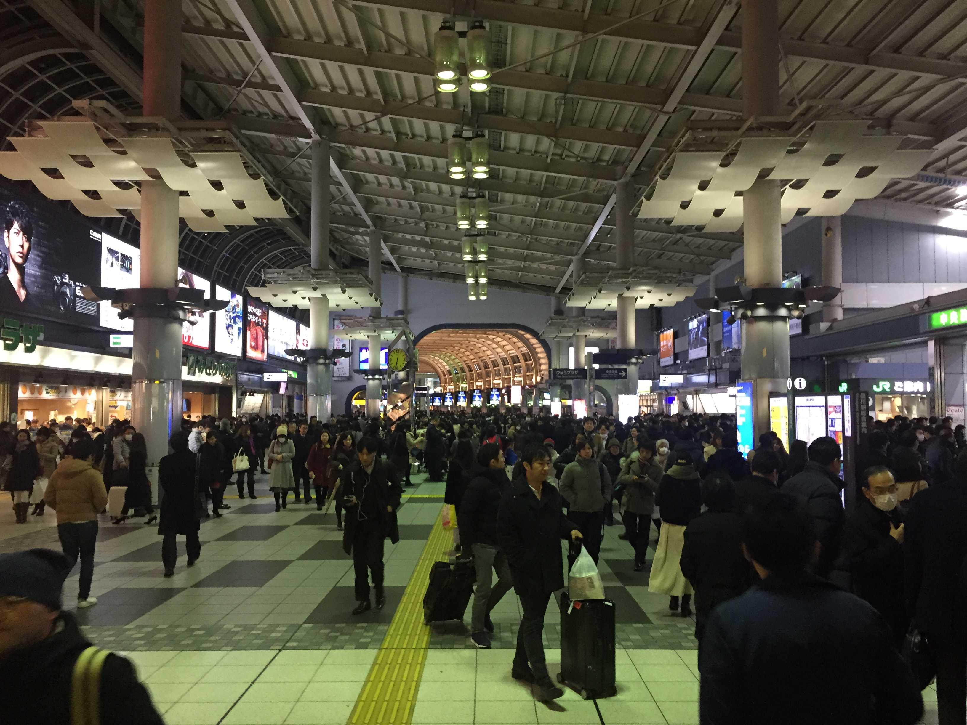 JR品川駅 改札前(自由通路)