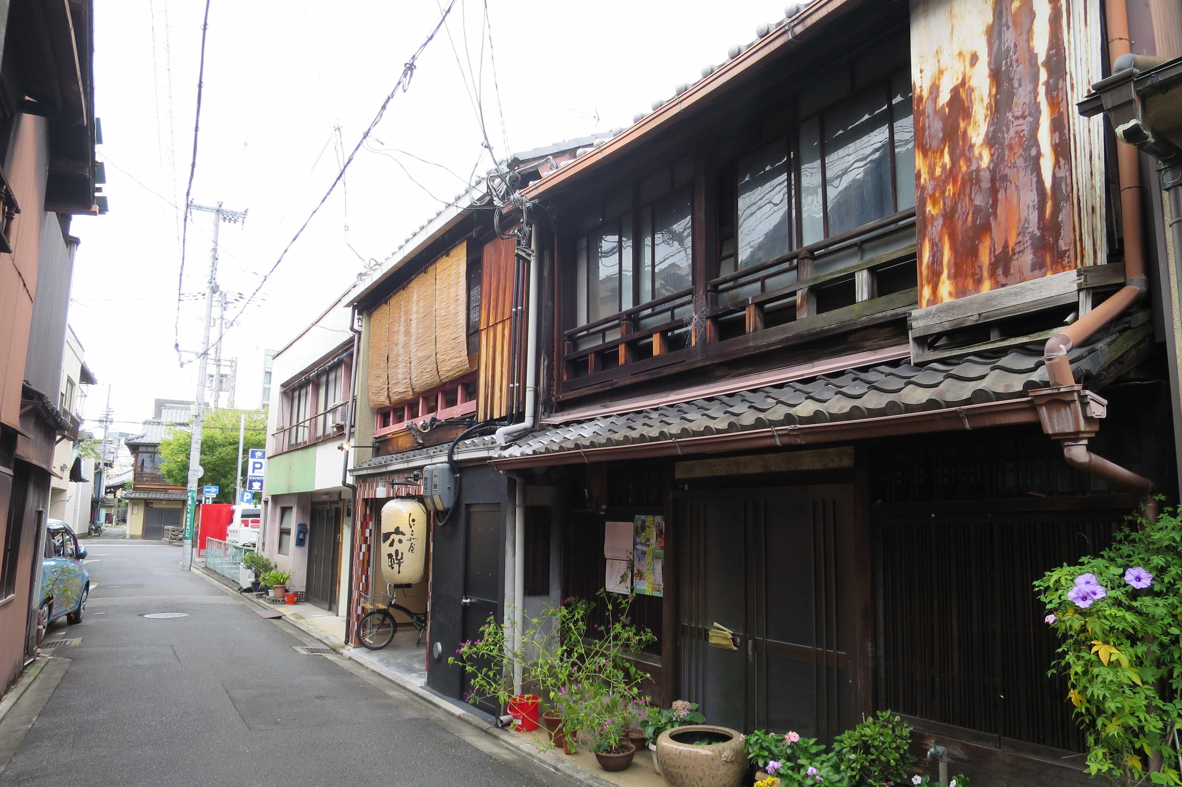 五条楽園跡(京都市下京区)