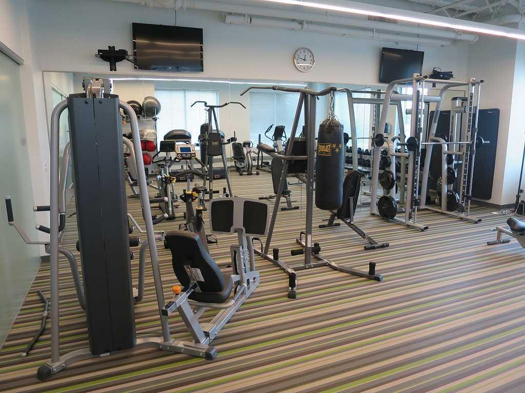 EVERNOTE(エバーノート)本社の社内トレーニングルーム
