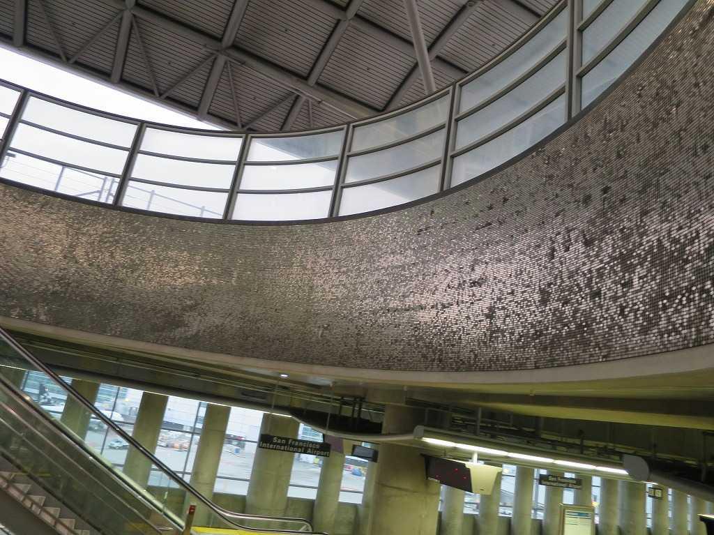 BART/バート サンフランシスコ国際空港駅