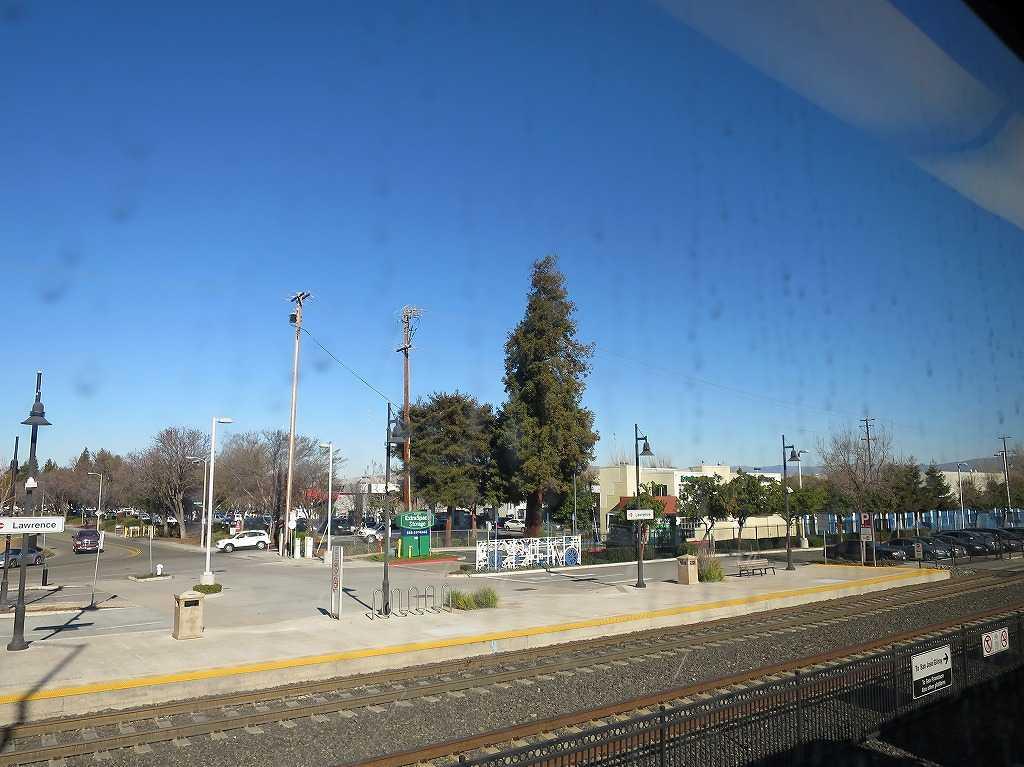 カルトレインの車窓 46 - Lawrence 駅