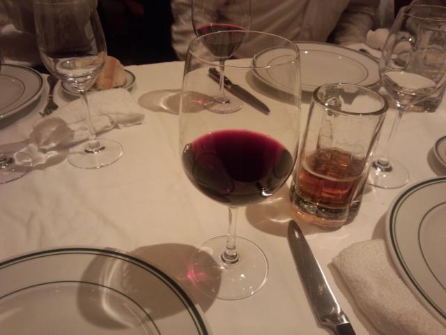 ウルフギャング・ステーキハウス六本木の赤ワイン