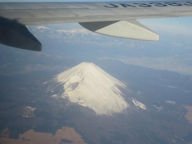 上空から見たマウントフジ(Mt. Fuji)