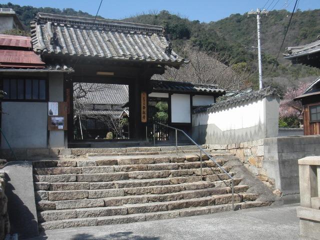鞆・静観寺(広島県福山市)