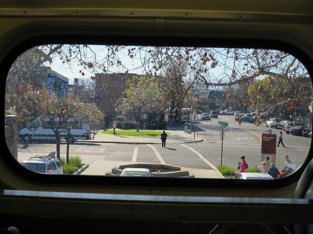 カルトレインの車窓 35 - Menlo Park 駅