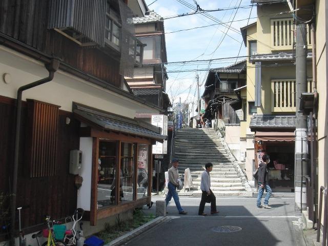 清水寺付近の路地