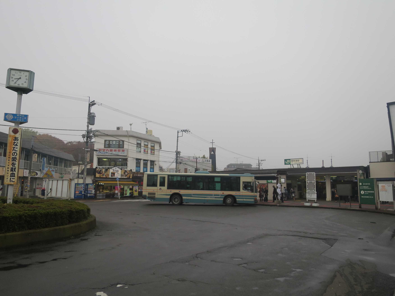 JR新秋津駅に西武バス到着