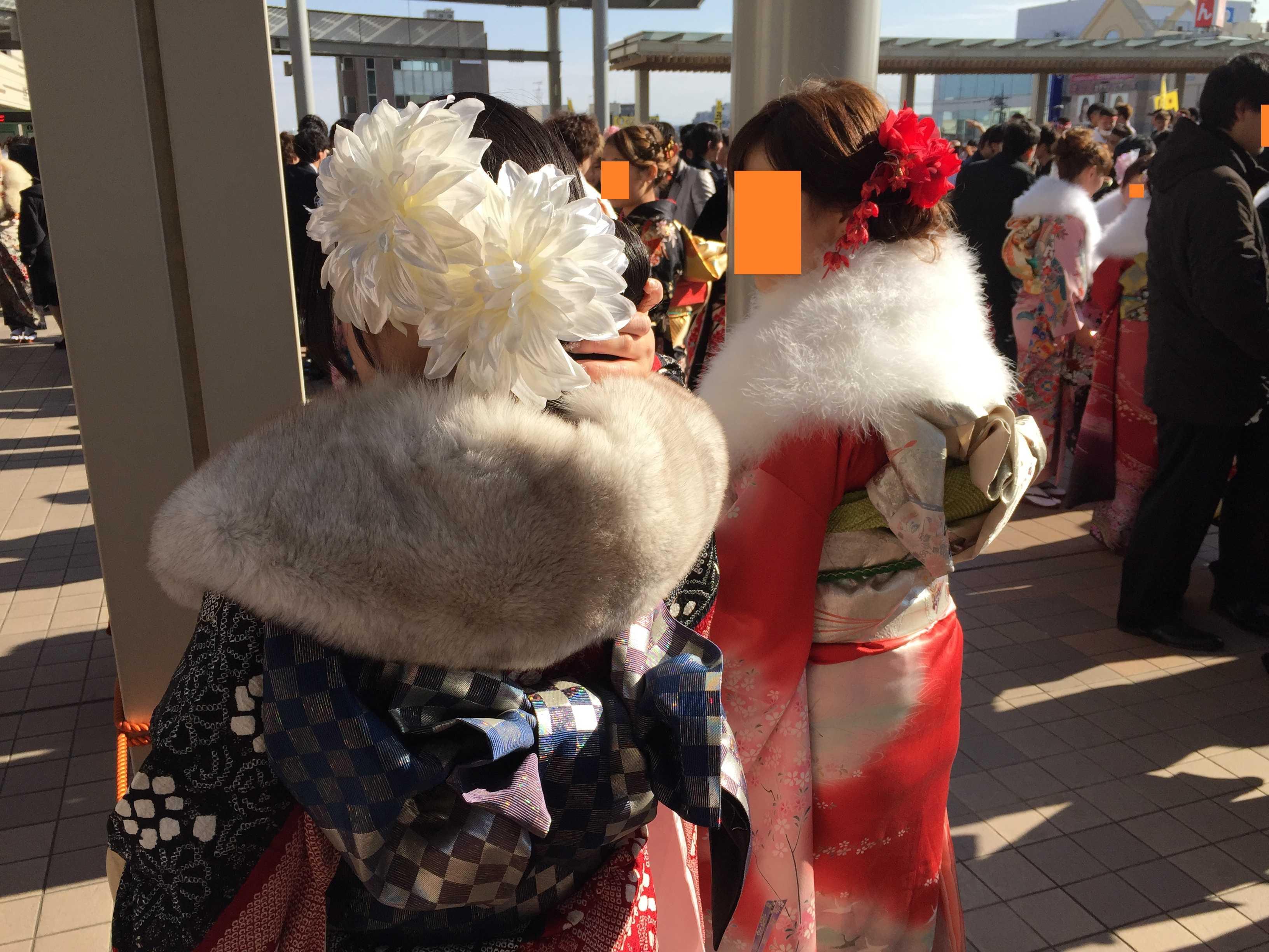 八王子市成人式 - 髪飾り