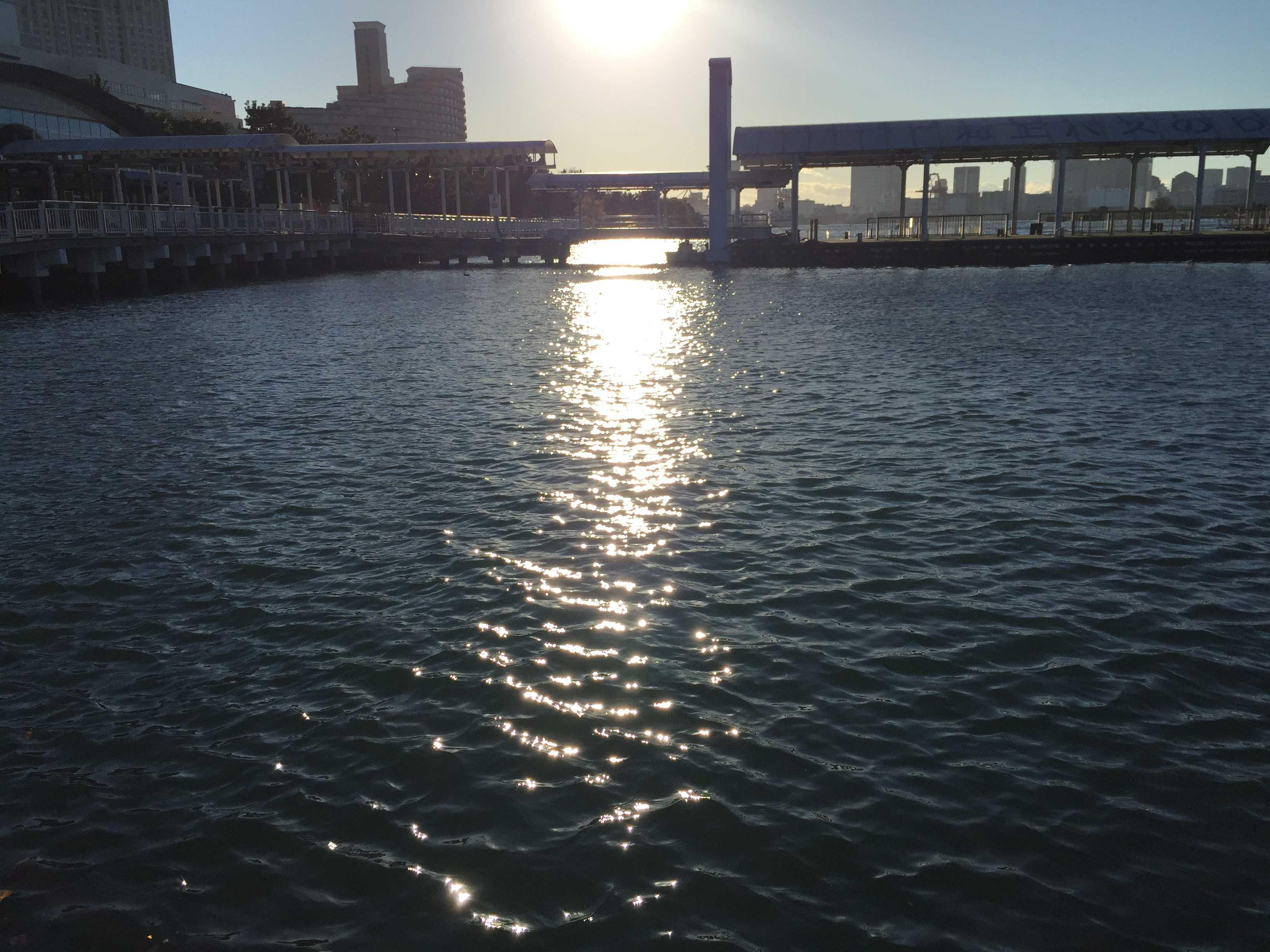 海上バスのりば - お台場海浜公園