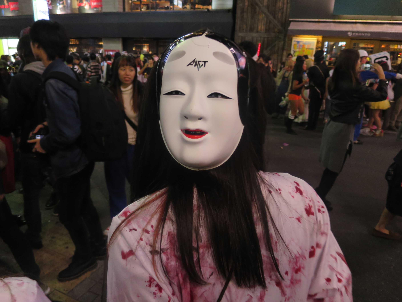 渋谷ハロウィン - 能面