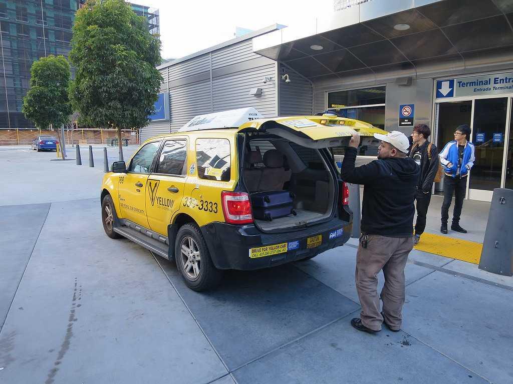 サンフランシスコ - イエローキャブ(タクシー)