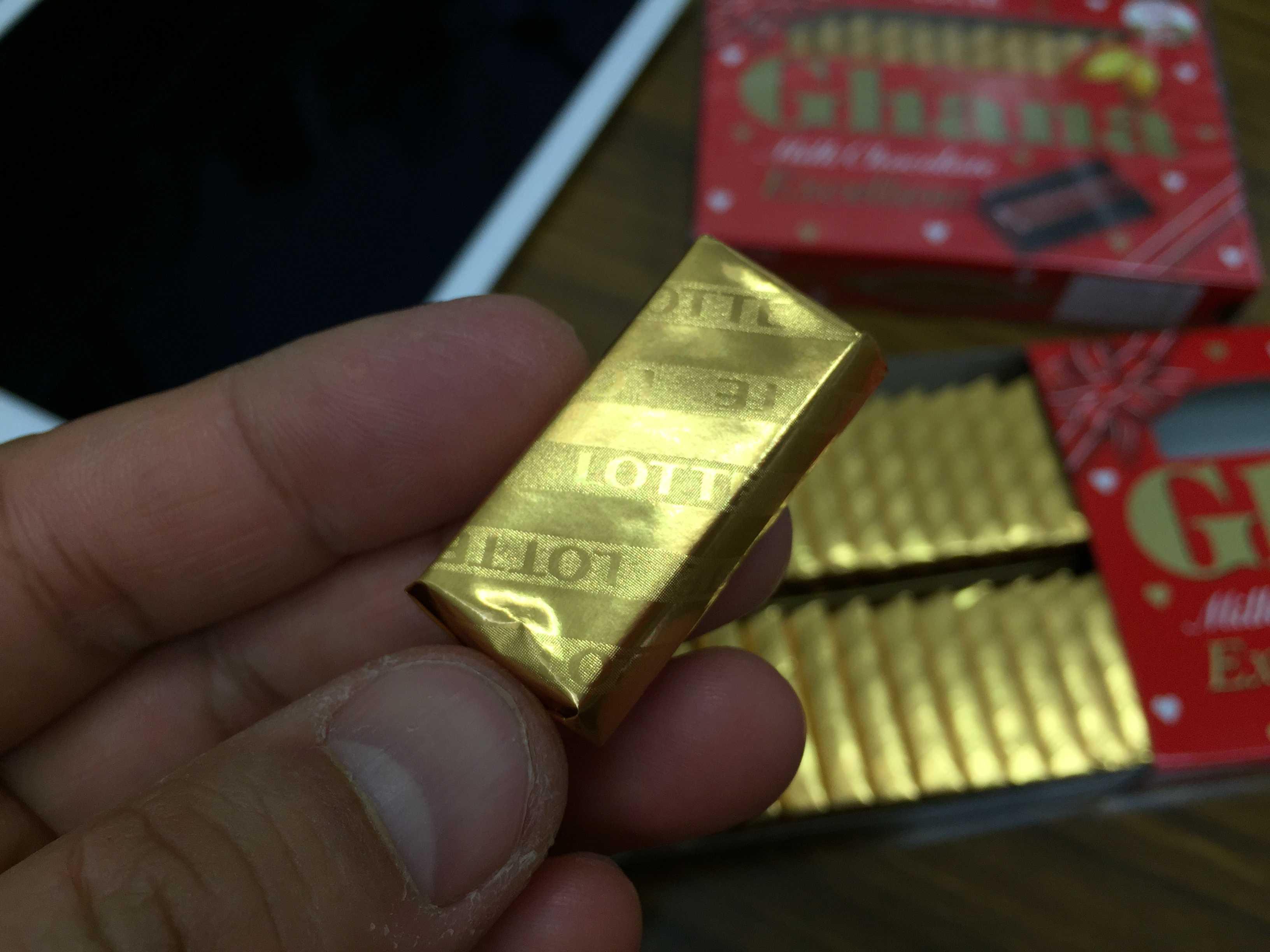 ガーナチョコレート - 個包装