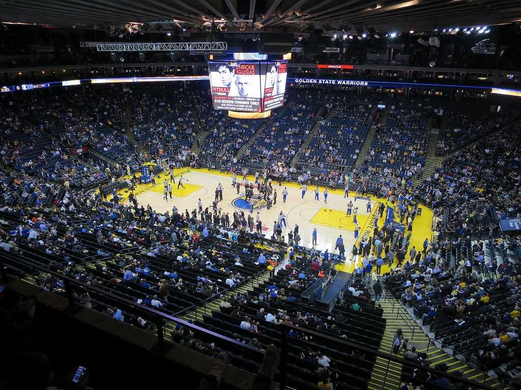 オラクル・アリーナ - NBAのバスケットボールコート