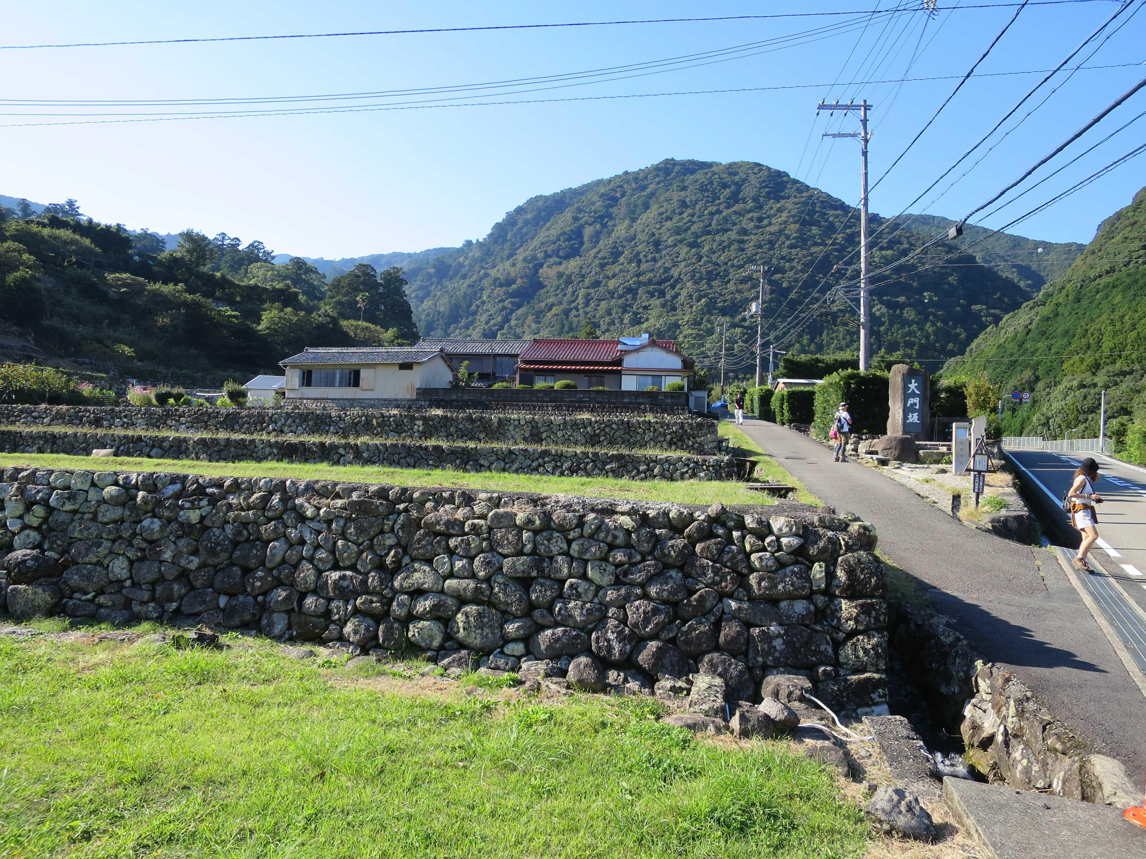 大門坂の入口