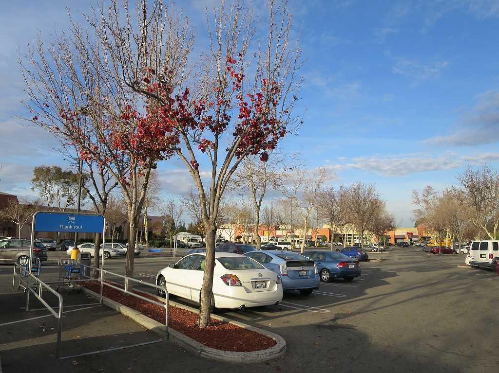 サン・アントニオ・ショッピング・センターの駐車場