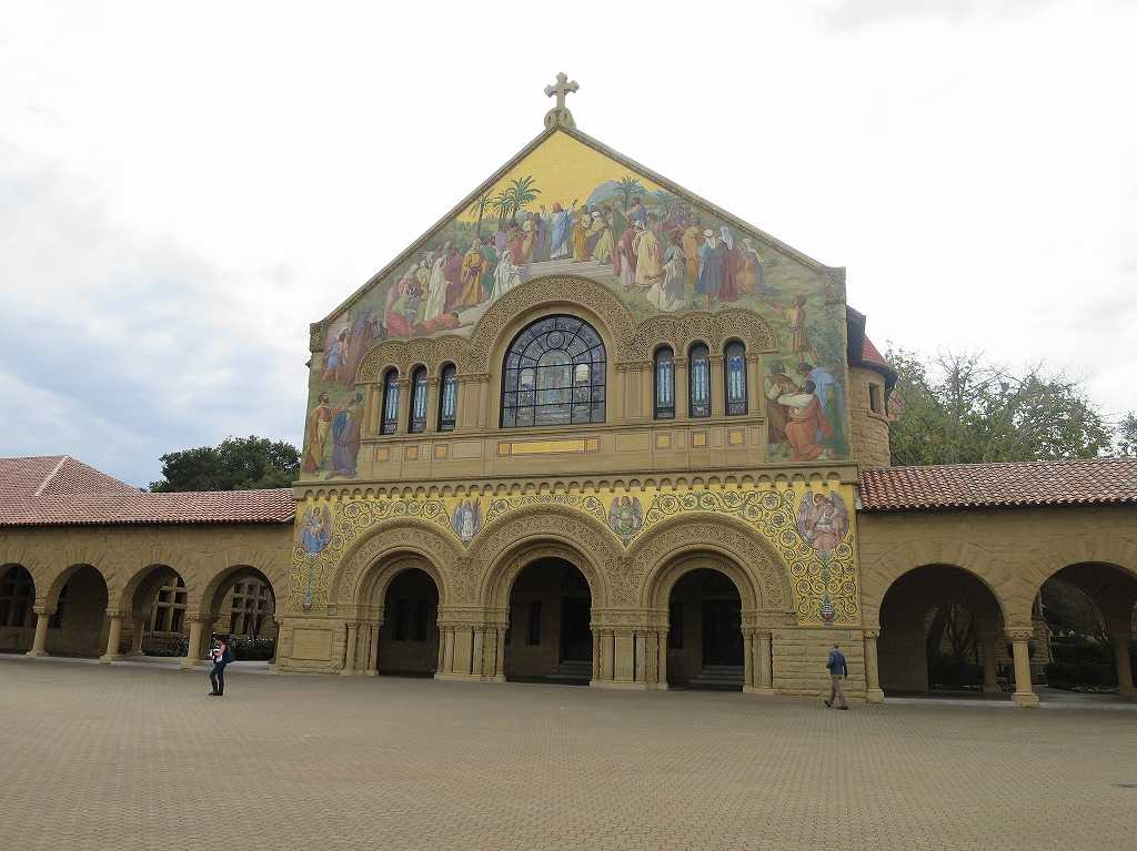 スタンフォード大学 - メモリアル・チャーチ