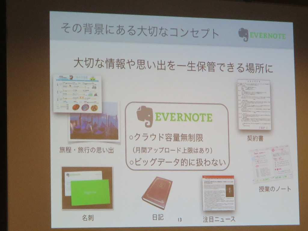 Evernoteのコンセプト