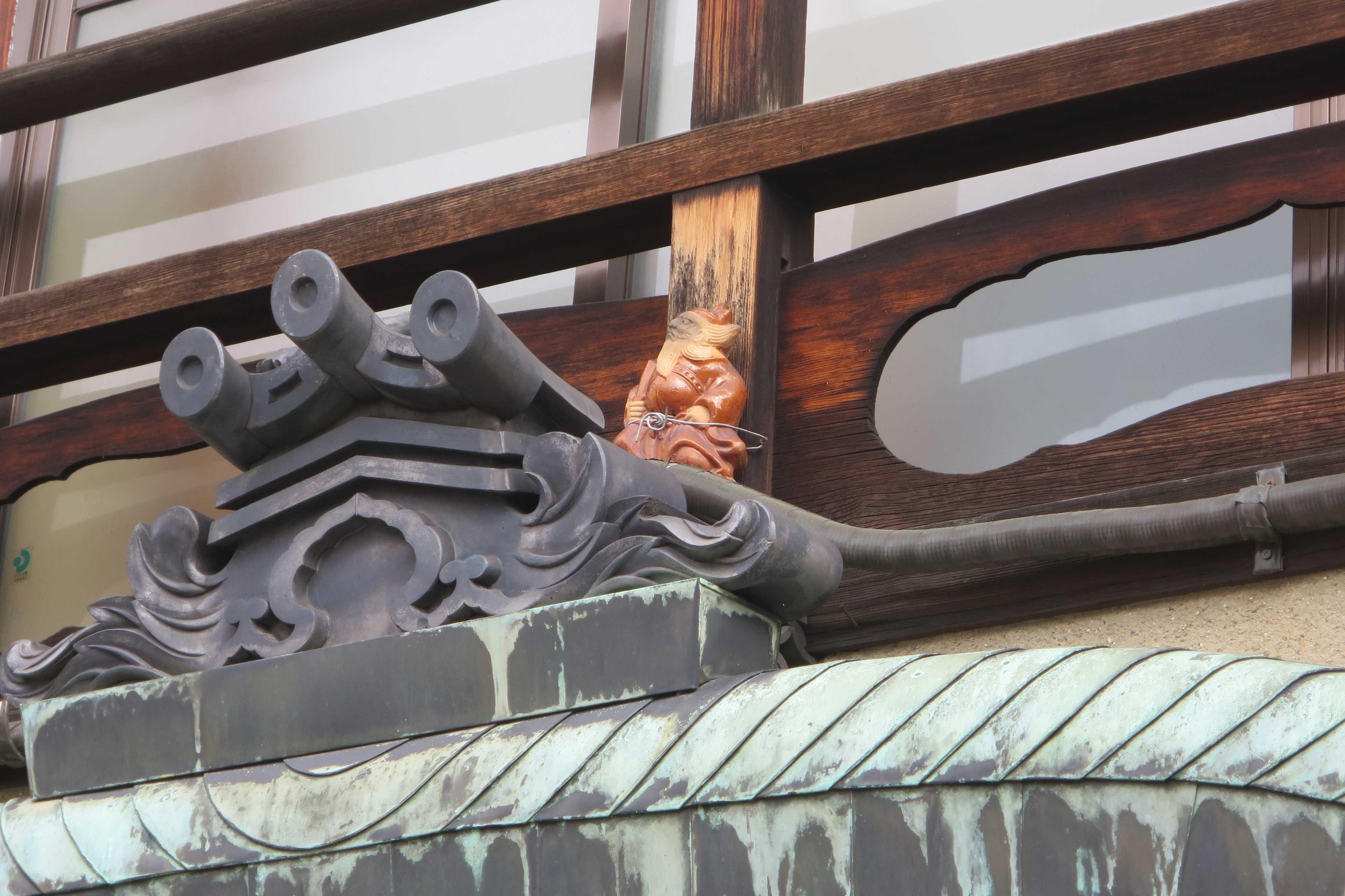 京都・五条楽園 - 鍾馗(しょうき)さん