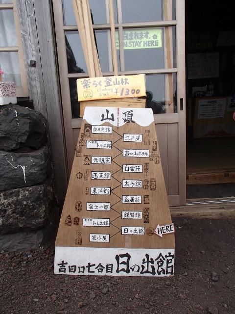 吉田口七合目 日の出館