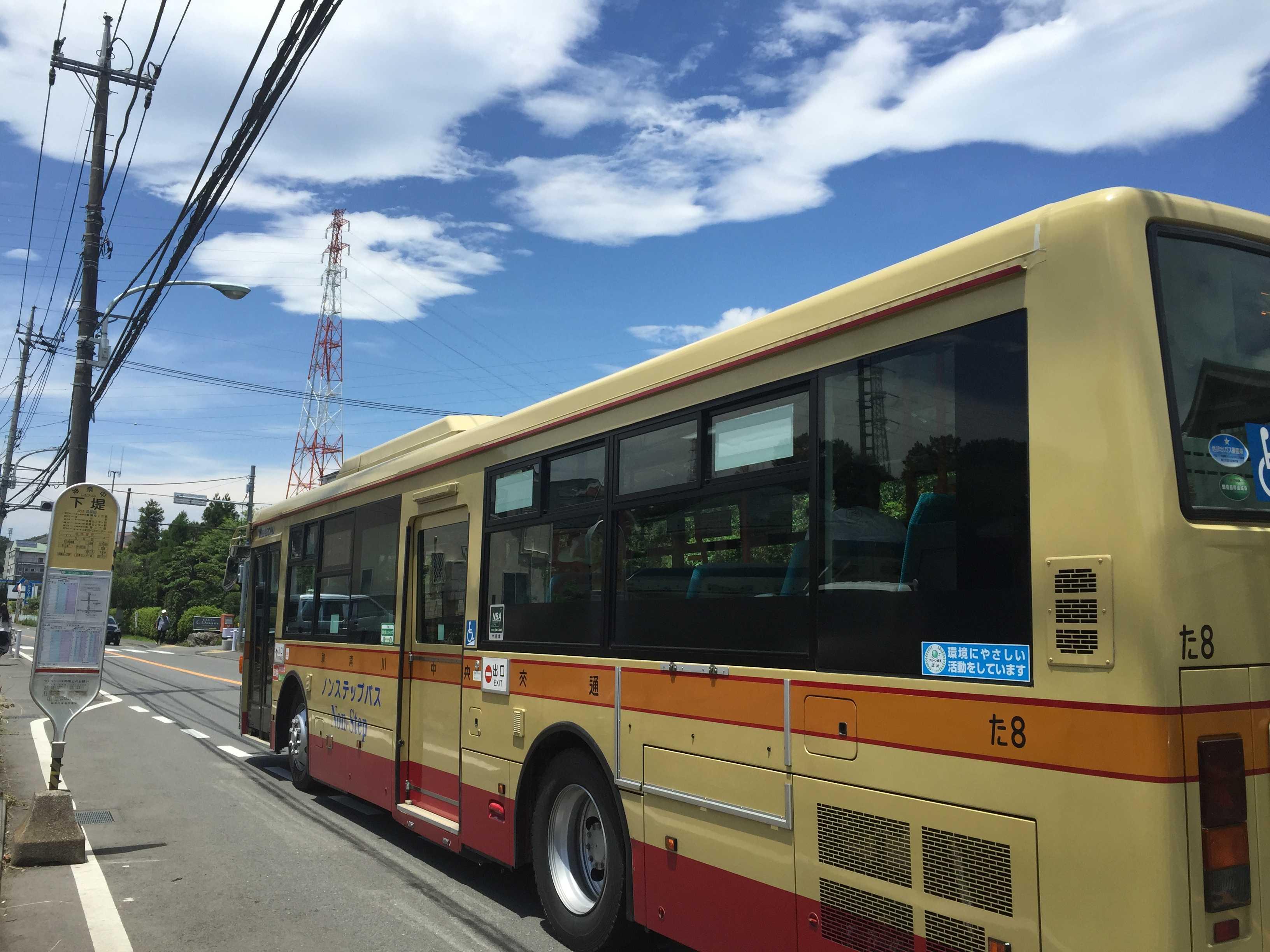 バス停「下堤」 - 町田市小野路球場前