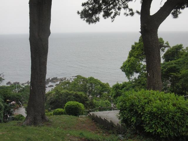 ケープ真鶴から見た大海原