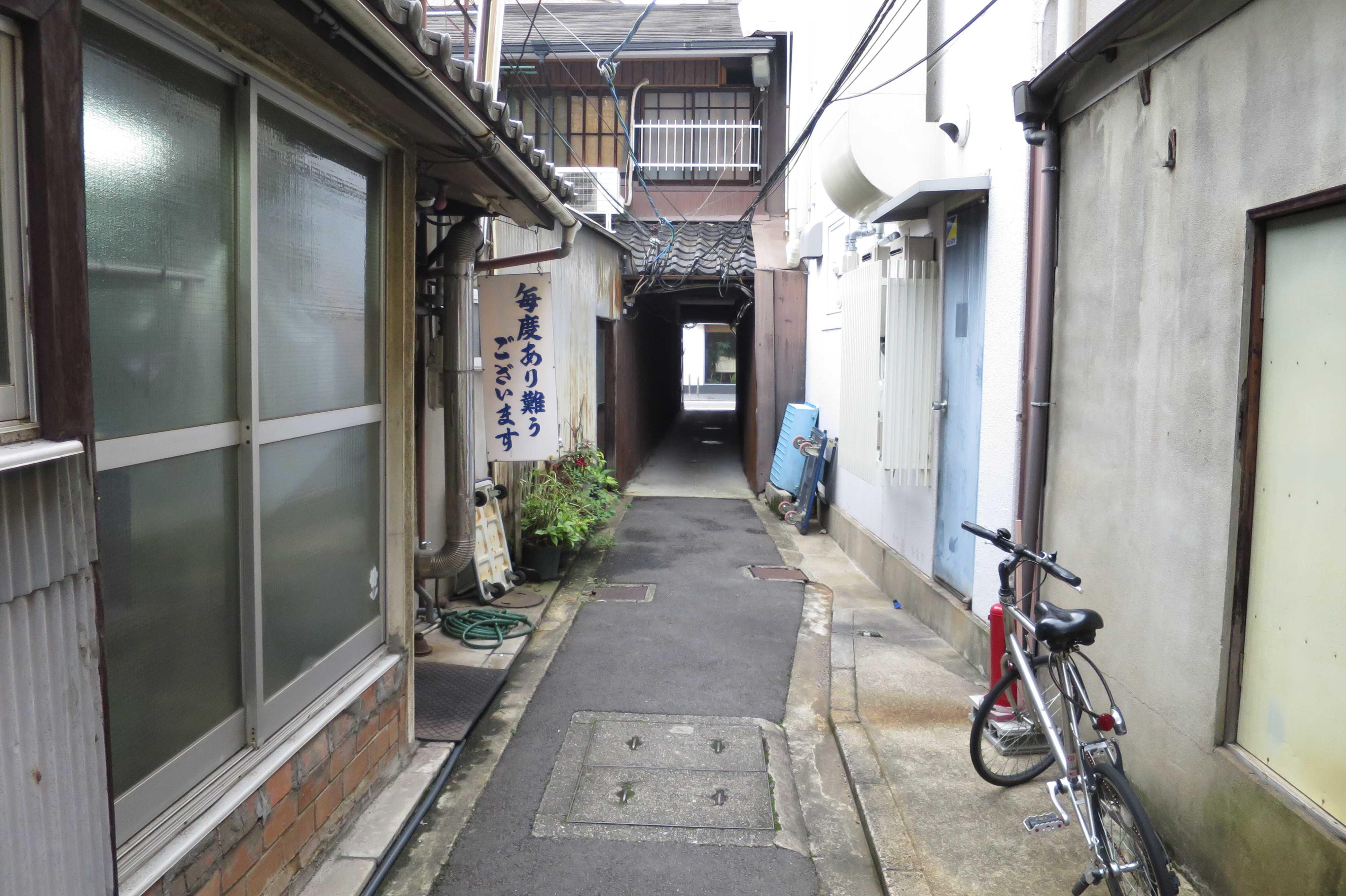 京都の路地裏