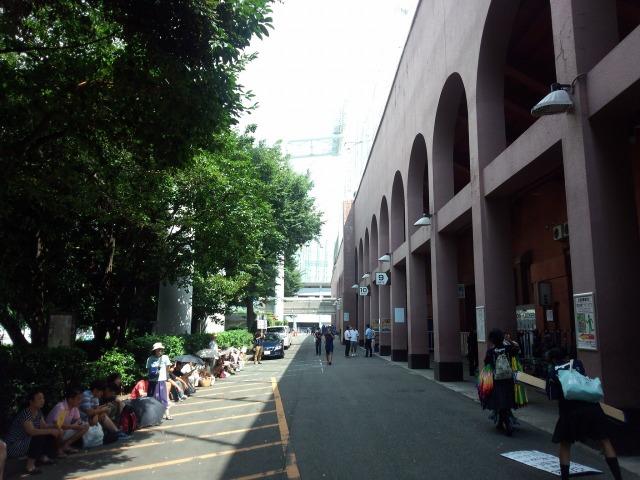 西東京大会決勝戦のチケットを求める行列 東海大菅生対日大鶴ヶ丘