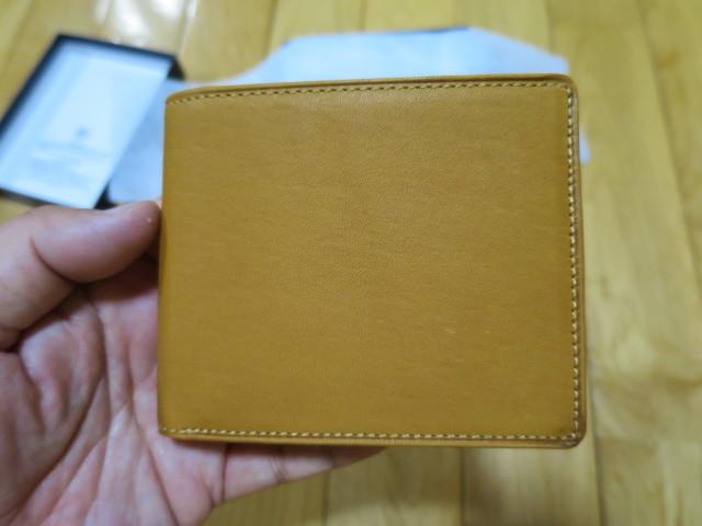 Mizunoの牛革二つ折りサイズ - 1GJYG00900の USAコルク色